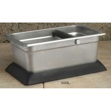 Stainless Steel Knock box with rubber base 11
